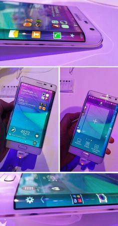 Cutting EDGE-Samsung Galaxy Note Edge-