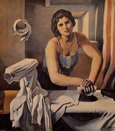 Planchadora - Roberto Fernández Balbuena (1902)