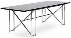 mesa de diseño bauhaus DOUBLE X by Eileen Gray CLASSICON