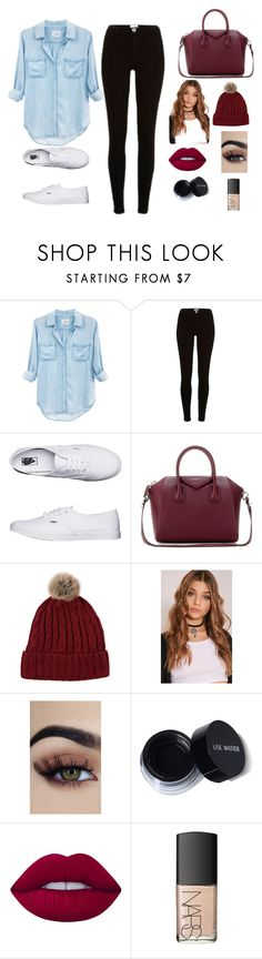 """Jeans and black"" by rola-cat on Polyvore featuring moda, Rails, River Island, Vans, Givenchy, C-LECTIVE, Lime Crime y NARS Cosmetics"