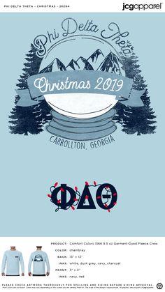 Phi Delta Theta Christmas Shirt | Fraternity Christmas | Greek Christmas #phideltatheta #phidelt #Christmas #snow #globe