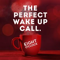 The perfect wake up call.