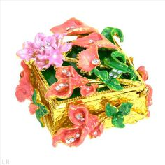 $14.00  Glittering Accessories with Stal Made of Yellow Base metal and Multicolor Enamel 2.2in
