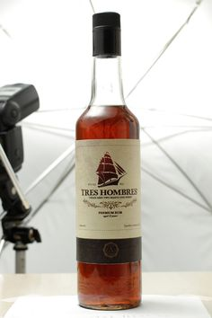 Tres Hombres - fairtrade rum. Best rum of the world! on Behance