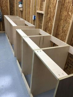 Mitersaw Station by FRH Makes SimpleCove Wood shop projects, Workshop cabinets, Garage workshop, Workshop Cabinets, Garage Cabinets, Diy Cabinets, Plywood Cabinets, Base Cabinets, Cupboards, Workshop Storage, Garage Workshop, Workshop Ideas