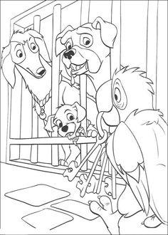 Disegni da colorare per bambini. Colorare e stampa La carica dei 101 29