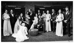Belle Mer Wedding, 41 North, Large Bridal Party, Vanity Fair,  ©Snap! Weddings
