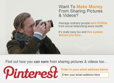 Making Money Secrets Of Pinterest - How to share pics and get paid