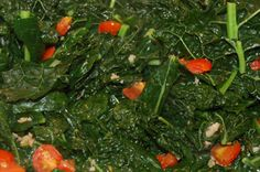 Lacinato Kale with tomatoes- sub the cherries for your heirlooms ...
