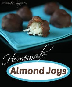 Imitation Almond Joys