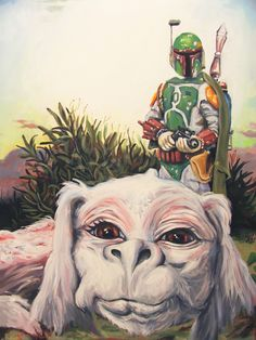 Hillary White's Star Wars/Neverending Story mashup.