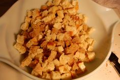 ... make croutons on Pinterest | Homemade croutons, Crouton recipes and
