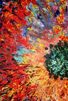 Abstract painting of flower | Flickr - Photo Sharing!