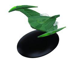 Eaglemoss Star Trek #027 Romulan Bird-of-Prey Starship