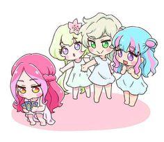 Venus Ark Elza, Aria, Rei, Kirara