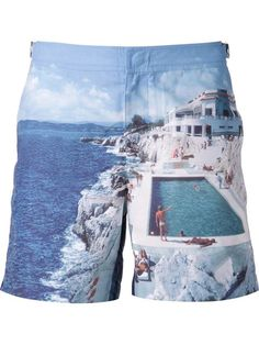 Shop Orlebar Brown 'Bulldog' classic shorts in Marissa Collections from the world's best independent boutiques at farfetch.com. Over 1000 designers from 60 boutiques in one website.