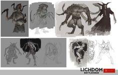 ArtStation - Demon Concepts, John Grello