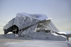 Musée-des-Confluences-Coop-Himmelblau...i love the tectonic/structural craziness going on here...