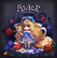 ArtStation - Alice, milkyu dong