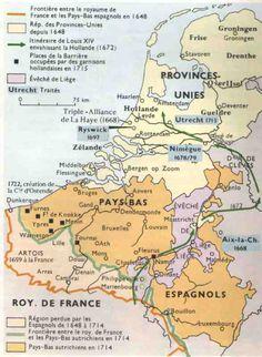 ネーデルランド - 低地地方 - その3 基礎文献と基礎知識 European Map, European History, World History, Utrecht, Early World Maps, Holland Map, Spanish Netherlands, Classical Antiquity, Old Maps