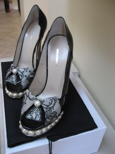 NK pearl lace origami platforms
