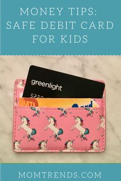 Money Tips Safe Debit Card for Kids - Teaching your kids about financial responsibility with Greenlight Debit Card for Kids Teaching Money, Teaching Kids, Financial Literacy, Financial Tips, Teen Money, How To Teach Kids, Kids Behavior, Frugal Tips, Kids Cards
