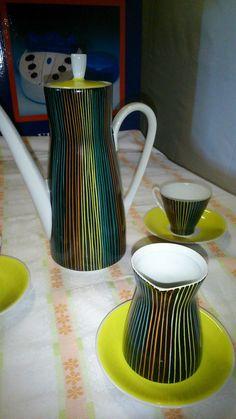 FREIBERGER PORELLAN, DDR, GDR, East German Tableware Design