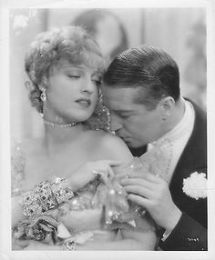 THE MERRY WIDOW b/w JEANETTE MACDONALD/MAURICE CHEVALIER original MGM still