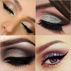 Glittery Eye Makeup Looks