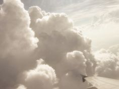 Dreamy Clouds Photograph Earthy Glow Flying High by ginaphoto, $15.00