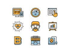Project Icons by Catalin Mihut