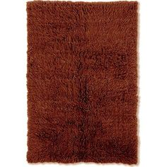 New Flokati Cocoa (Brown) 8 ft. x 10 ft. Area Rug
