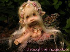 polymer clay fairies