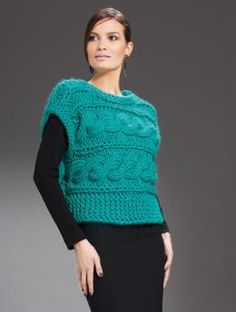 Ladies' Sweater Vest | KnitSMC.com
