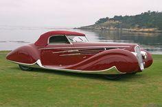 1938 Delahaye 165 Cabriolet. @designerwallace