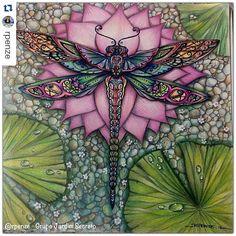 Instagram media desenhoscolorir -  to impressionada com essa perfeição! By  @rpenze ・ #florestaencantada  #enchantedforest #johannabasford #desenhoscolorir