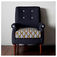 Super funky upholstered armchair