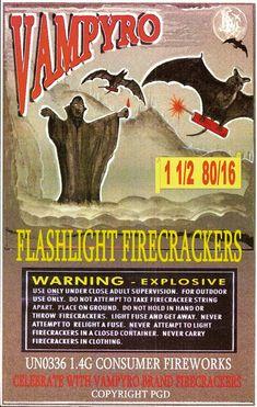 firecracker artwork | Vintage firecracker art found at Mr Brick Label's flickr collection.