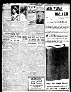 Albany Times-Union coverage of the Titanic disaster. For a closer look, visit the History blog.