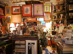 rare book collector thomas cary's nyc apartment [link to series of images]