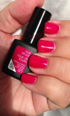 Sensationail Color Gel Nail Polish in Love Struck, Pink!
