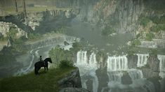 Shadow of the Colossus Photography Thread Fantasy Landscape, Fantasy Art, The Adventure Zone, Amaterasu, Rest Of The World, Manga Art, Beautiful World, Serenity, Backgrounds