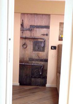 Door Digitally Decorated door on the Canon Arizona flatbed
