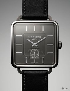 Hermès watch @}-,-;—