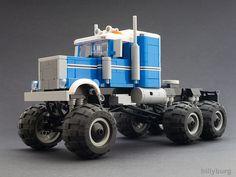 Lego Peterbilt Monster Truck by billyburg on Flickr