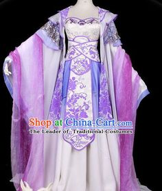 Traditional Chinese Imperial Court Princess Dress Asian Clothing National Hanfu…