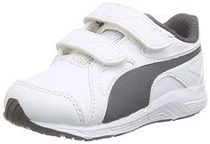 Puma Axis v4 SL V Inf, Unisex-Kinder Sneakers, Weiß (white-asphalt 03), 34 EU (1.5 Kinder UK) - http://on-line-kaufen.de/puma/34-eu-puma-axis-v4-sl-v-inf-unisex-kinder-sneakers-4
