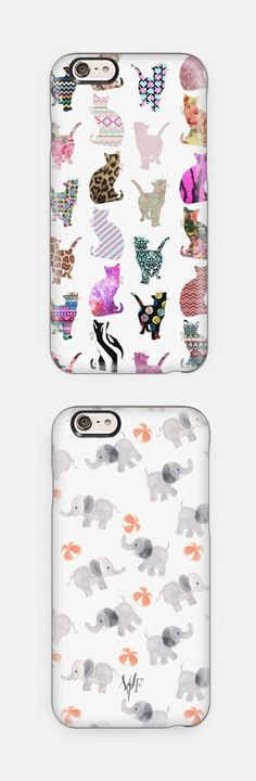 Cute iPhone cases! Available for iPhone 6, iPhone 6 Plus, iPhone 5/5s, Samsung Cases and many more. Perfect Christmas gift idea