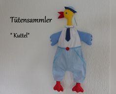 """Tütensammler"""" Kuttel"""" von Burgelfe1 auf DaWanda.com"""