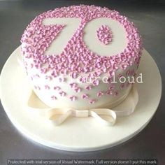 Pretty Photo of Cute Birthday Cakes . Cute Birthday Cakes Cute Birthday Cake Ideas For Moms Pk Homeinteriorpl cake decorating recipes kuchen kindergeburtstag cakes ideas Birthday Cupcakes For Women, Pretty Birthday Cakes, Cake Birthday, 70th Birthday Ideas For Mom, 60th Birthday Cake For Ladies, Flower Birthday, Grandma Birthday Cakes, Women Birthday, 70th Birthday Images